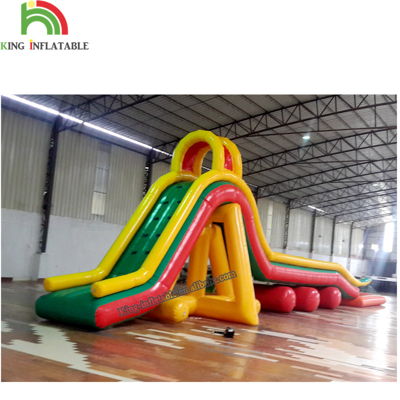 Dragon Steep Inflatable Water Park Slides With Pool For Sale