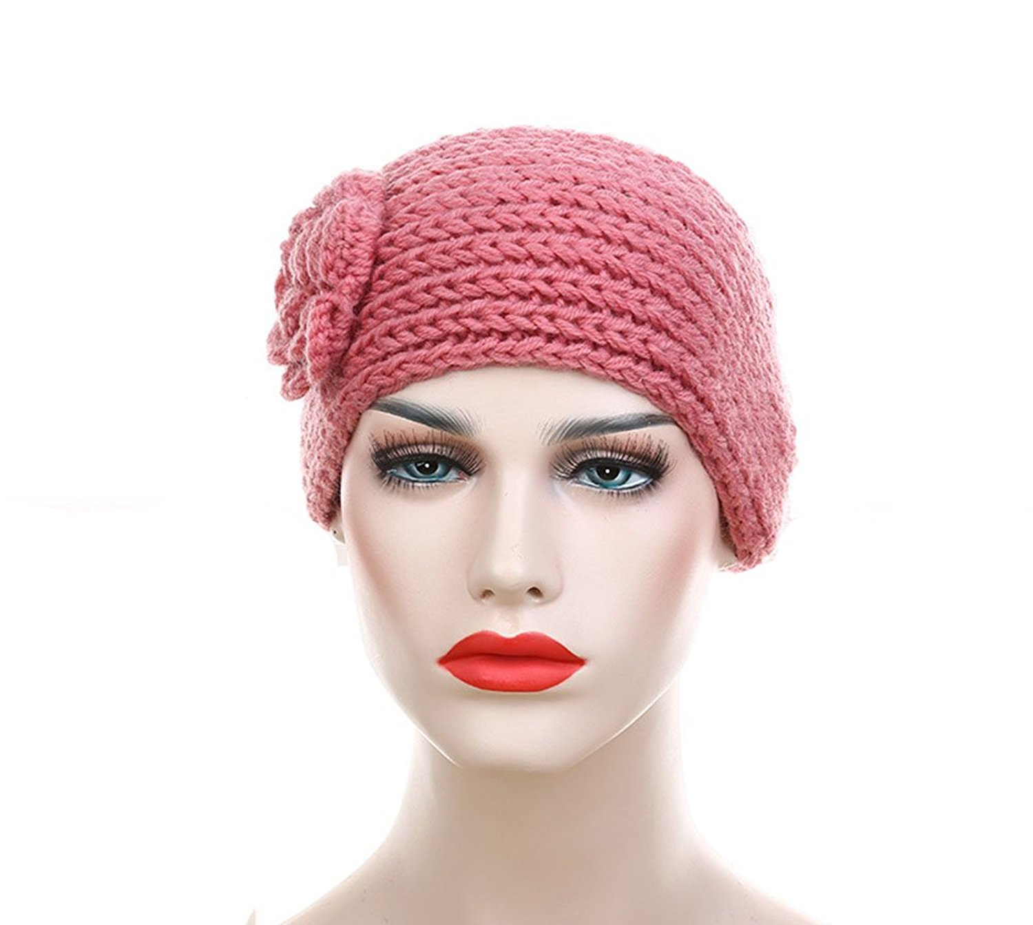 e71987862faaa2 New classic plain Crochet Headband Knit hairband Winter Women Ear Warmer  Headwrap womens knit headbands