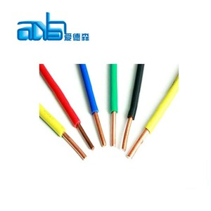 0.5mm solid core cable copper conductor pvc coated wire BV specification of cable wires