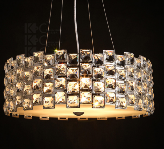 Modern Crystal Chandelier Lights Indian Pendant Lighting And Clear ...