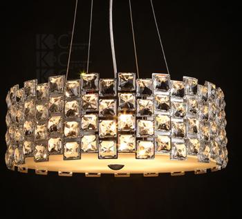 Modern Crystal Chandelier Lights Indian Pendant Lighting And Clear Light Gu10 Led Ceiling Lamp Model