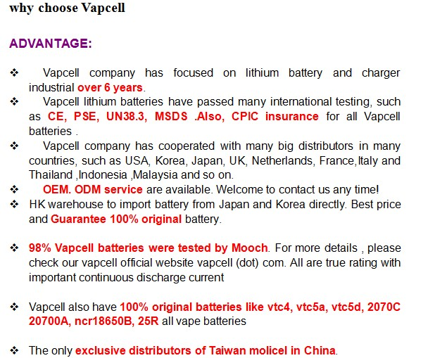 NO.1! price favorable 10440 cell Vapcell 10440 320mAh 3A rechargeable batteries for vape/tool battery Vapcell 3A  320mAh10440