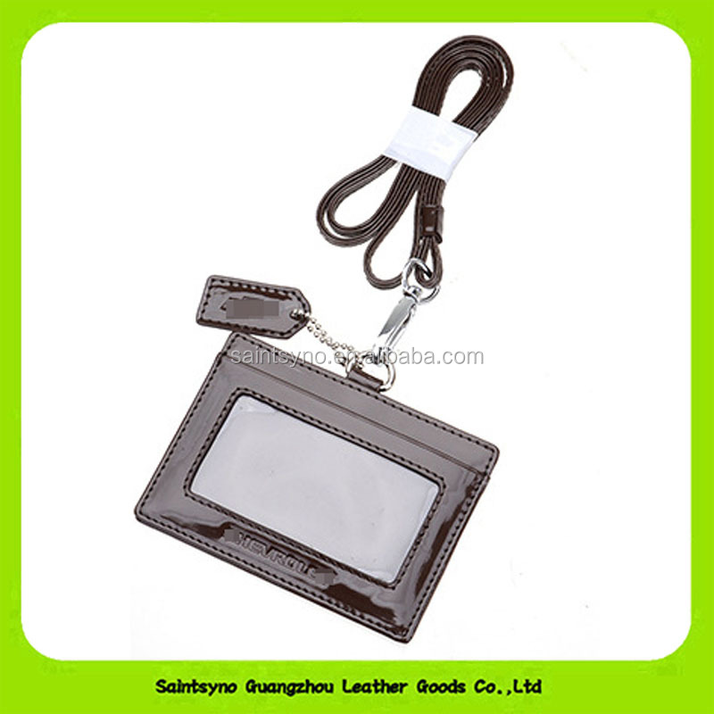 Saintsyno Fashion Luxury Real Leather Hang Tag Luggage Tag For Souvenir Gift In Guangzhou 16457