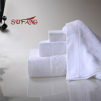 hand towel hooked satin border custom size strong water absorption