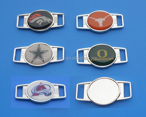 Colorado Avalanche, Dallas Cowboys Metal Blank Shoe Buckle