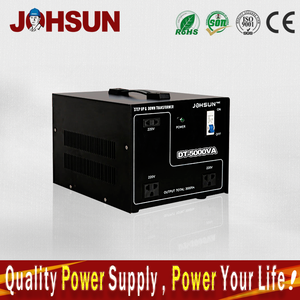 5kva power voltage transformer 110v/220v 5000w step up/down voltage converter with circuit breaker protection