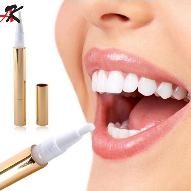 Caldo efficace denti dentali che imbiancano penna gel sbiancante bleach
