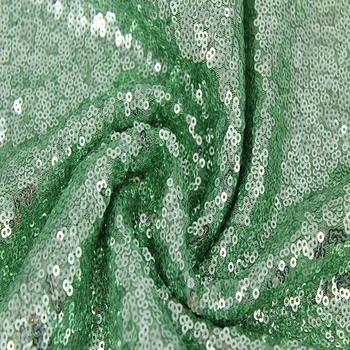Bronze Mink Green Teal Sequin Fabric For Dress Backdrop Table Cloth
