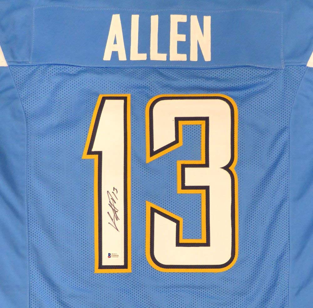 432837d8099 Get Quotations · Los Angeles Chargers Keenan Allen Autographed Powder Blue  Jersey Beckett BAS