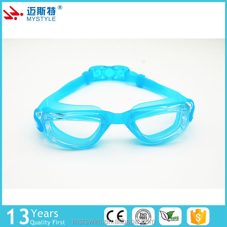 New coming hot sale promotion anti fog swim goggles to children