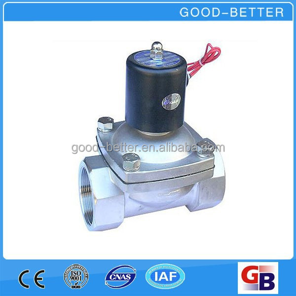 Hot selling Two-way Stainless Steel Direct Acting electric solenoid water valve
