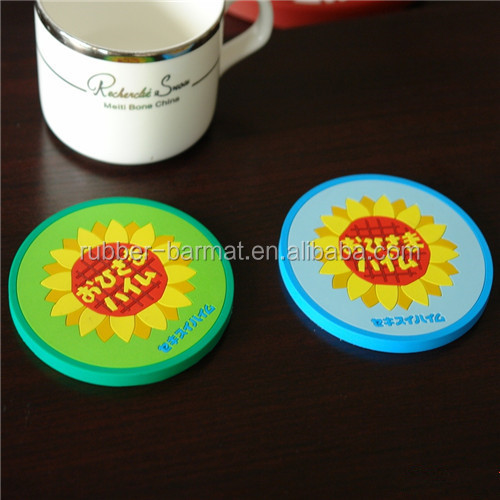 Eco-friendly Cotton Rope Soft Durable Coaster Coil Rope Cup Drinks Holder Mat Tableware Place mat
