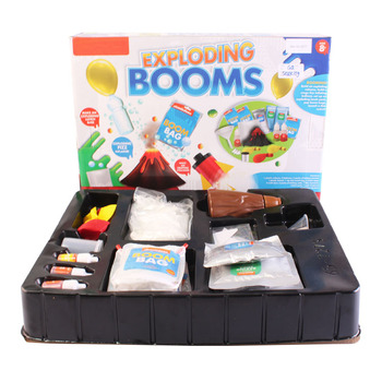 DIY Kids Exploding bath bomb making kit Educational Kit , BATH BOMB mold kit