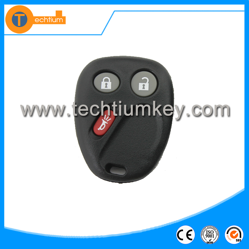 High quality 3 button car remote key shell blank whole sale for Buick excelle xt key