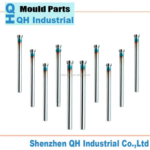 Injection Mold SKD Ejector Pin material,Customized Nitrided Rectangular SKD61 Shoulder Blade Ejector Pin Ejector Sleeve