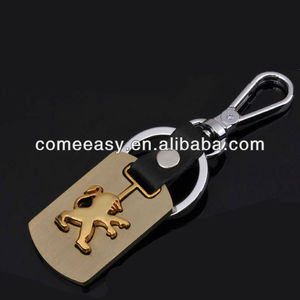 2013 metal gifts peugeot car logo keychain accessories