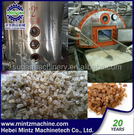 cheaper cube crystal Sugar Production Line with automatic control system