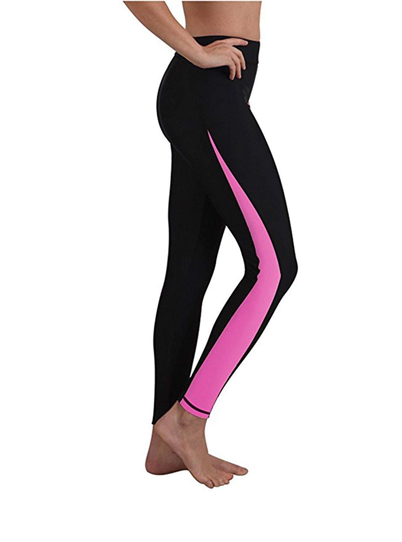 103ea9d7d65 Get Quotations · Little Beauty Surfing Leggings Swim Tights for Women,  Wetsuit Pants Sun UV Protection, Comfortable