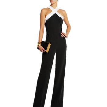 4e0ac9bed5c Wholesale Ladies Jumpsuit Black Breathable Sexy Jumpsuits - Buy ...