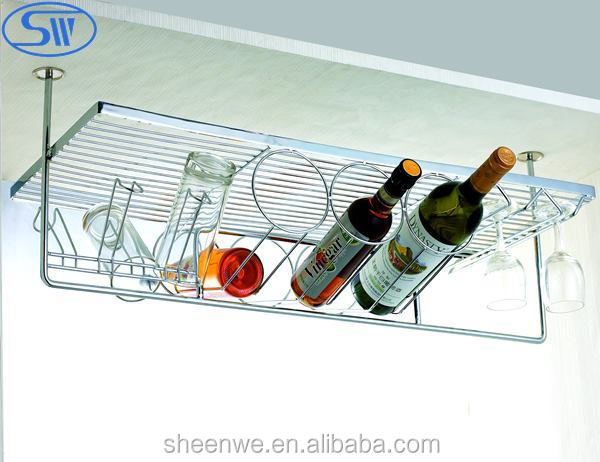 WDJ160 Guangzhou Kitchen Cabinet Stainless Steel Plate Rack With Dish  Drainer Tray