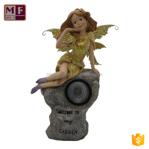 Customized Resin Angel Figurine Decoration Craft for Sale