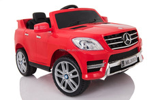 Cheap ML350 Mercedes-Benz wholesale electric kids car licensed remote control car EVA tires for kids