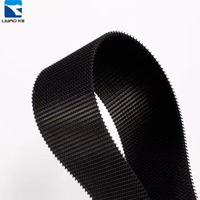 Hot selling 100% nylon molded high quality customized design injection molded back to back hook and loop tape