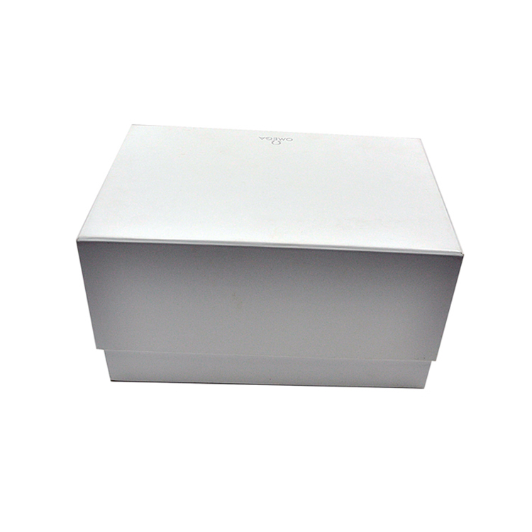 Custom white carton gift product packaging paper box