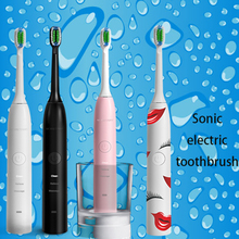 Adult sonic electric toothbrush with customized music or sound,electric musical toothbrushelectric music toothbrush