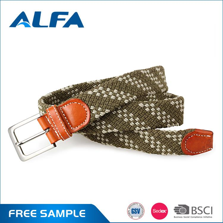 Alfa Hight Quality Products Stylish Colorful Elastic Stretch Belt For 2017