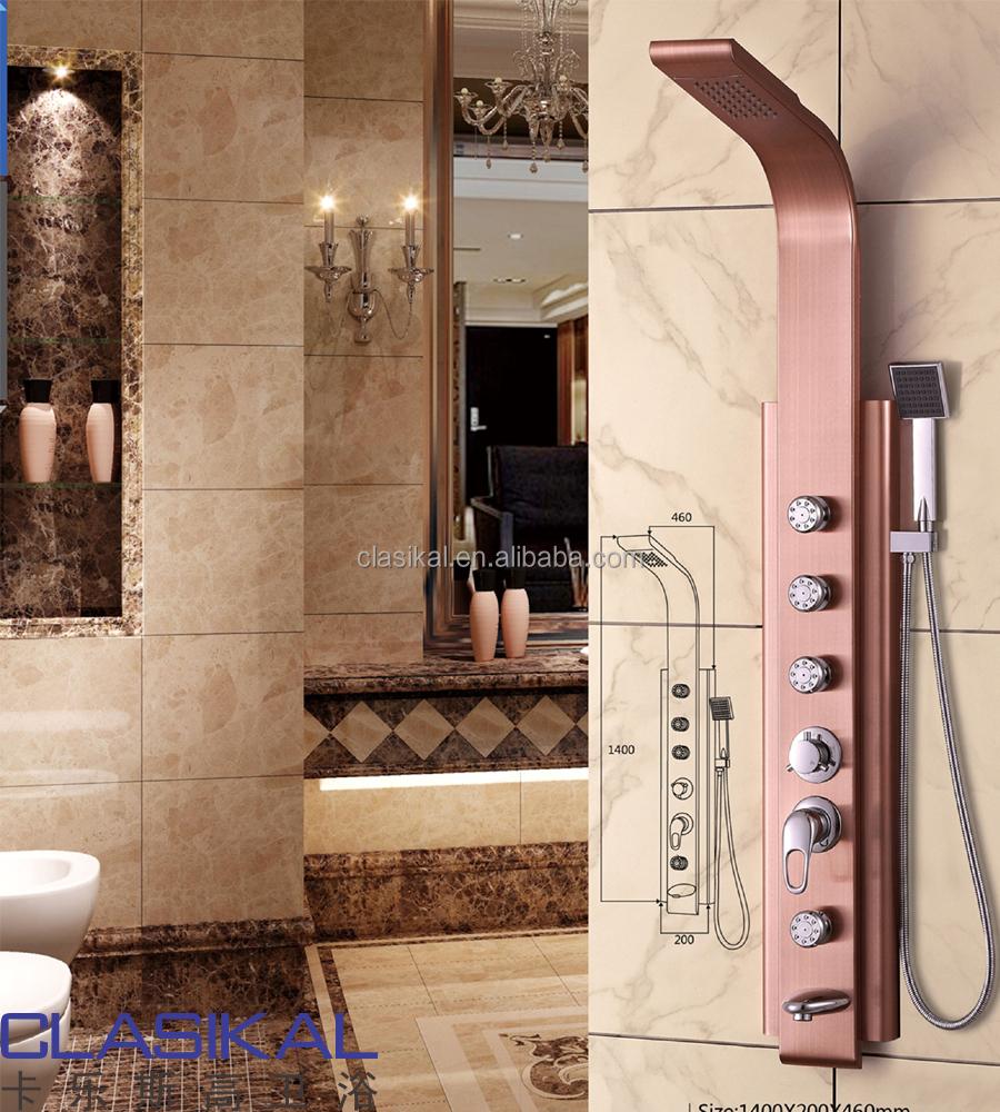 fabricant colonne de douche