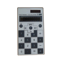 Top Quality Small 8-digit Screen Display Solar Thin Pocket Calculator