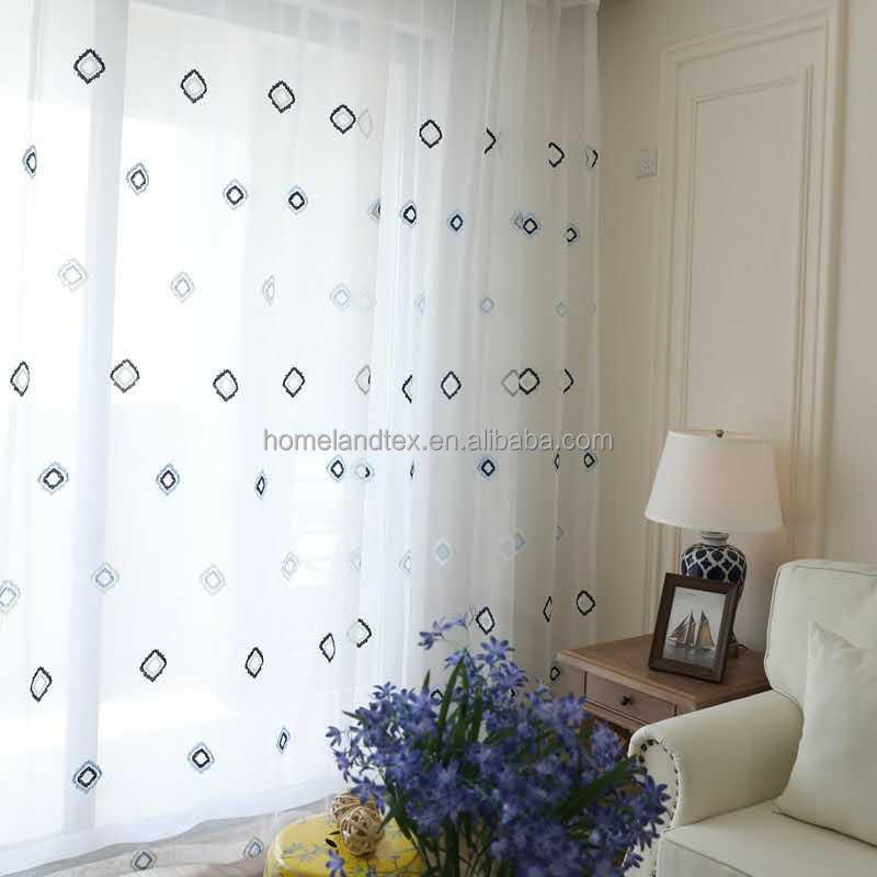 100% polyester Germany voile continuous curtain fabric