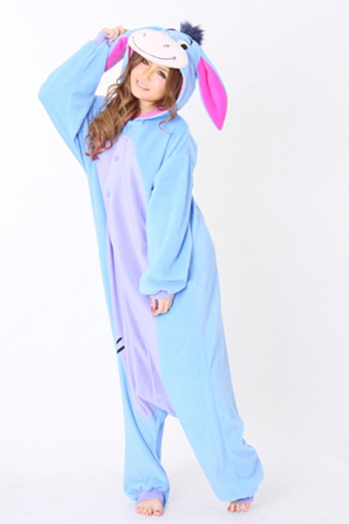c0a31dafc8 Get Quotations · 2015 Adult Unisex Pajamas Japan Animal Cartoon Christmas Cosplay  Pajamas Eeyore Donkey Onesie Pyjama Women Sleepwear