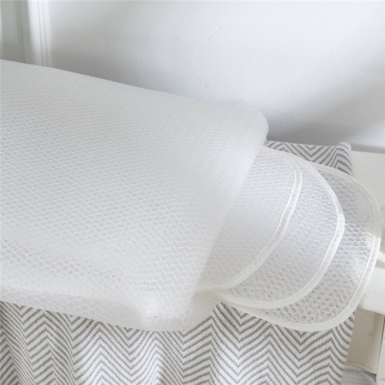 summer hot selling 3D mesh bedding pillow,breathable and washable 3D air mesh pillow,adult bedding pillow