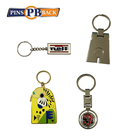 New style modern cheap custom made name beautiful medal keychains