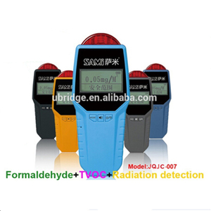 Portable Gas Leak Detector with Alarm JQJC-007 Portable Formaldehyde Gas Detector