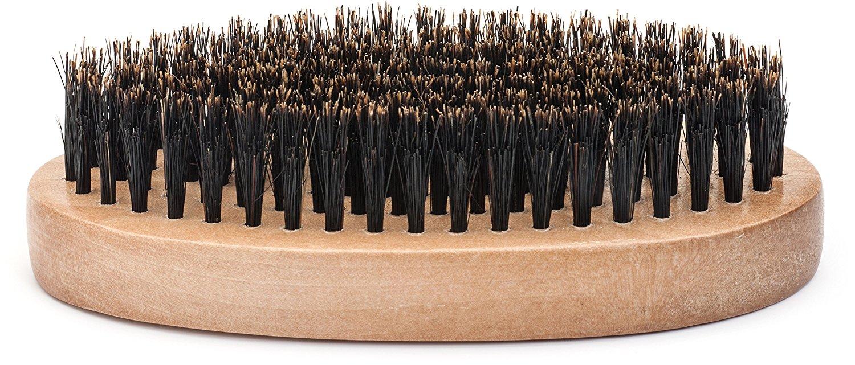 "GranNaturals Boar Bristle ""Military Style"" Hair Brush"