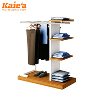 Clothes rack shop fittings hanging clothes rack cloth shoe rack