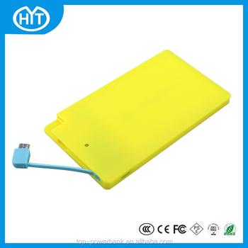 Ultra thin business card sized 2600mah rechargeable power banks ultra thin business card sized 2600mah rechargeable power banks colourmoves