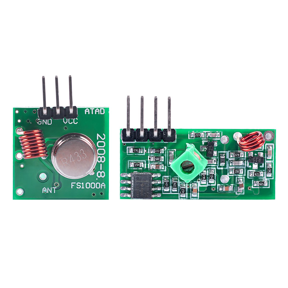 433Mhz RF Transmitter and Receiver Module Link Kit for ARM/MCU WL DIY 315MHZ/433MHZ Wireless for Diy Kit