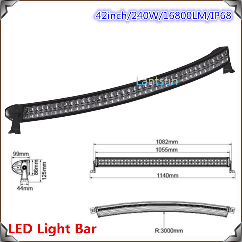 240w 4x4 Cree Led Car Light,42
