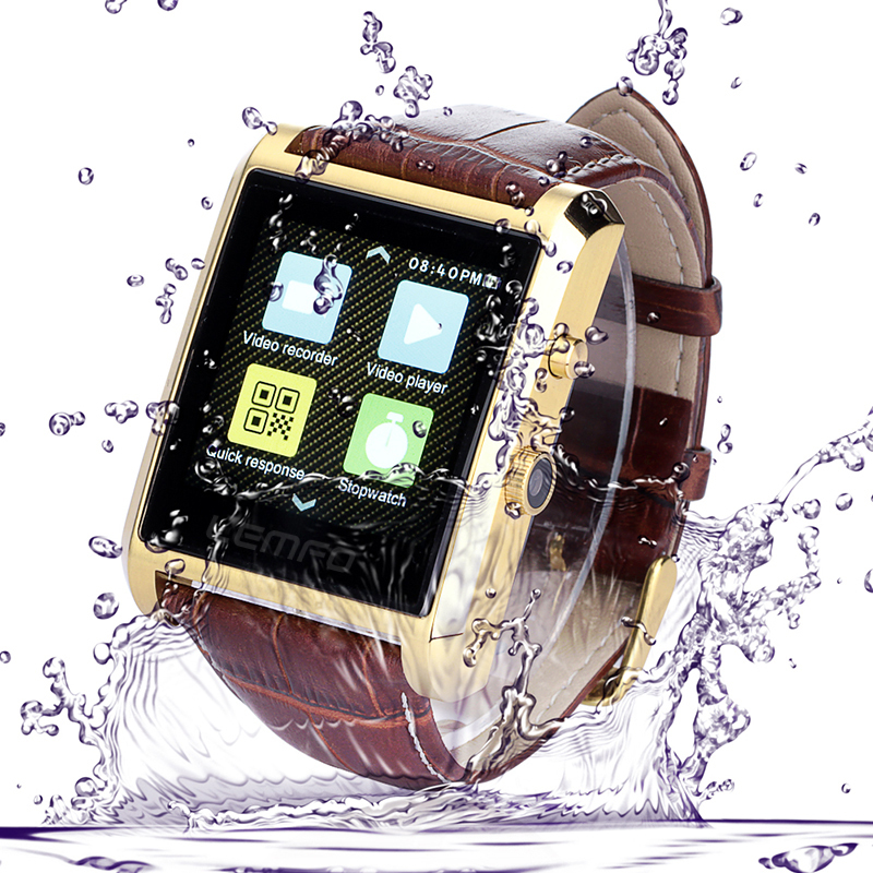 Bluetooth Smart Wacth Fitness Tracker IP67 Waterproof Smartwatch IPS Full View Touch Screen Call/SMS/APP Sync 2.0MP Camera New