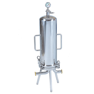 Best price filter cartridge type stainless steel 304 liquid filter housing for RO water treatment