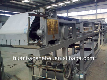 Dewatering Equipment Vacuum Belt Filter Press for Solid and Liquid Separation
