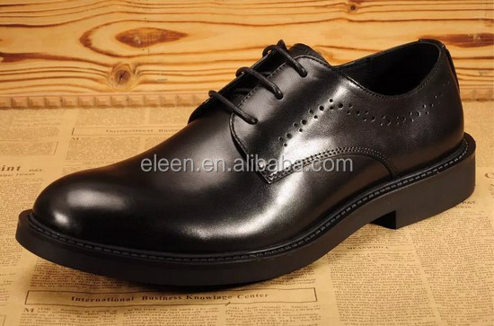 black men shoes leather genuine dress Elegant qU7nq