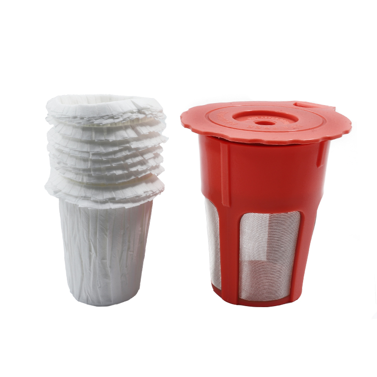 Disposable K Carafe reusable coffee paper filter for keurig 2.0