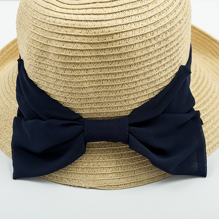 China Factory Supply fashion custom beach Panama Hat Straw