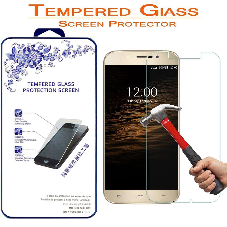 UMI Rome X / UMI Rome Tempered Glass, Nacodex® Premium Tempered Glass Screen Protector Film For UMI Rome X - [2.5D Round Edge] [9H Hardness]