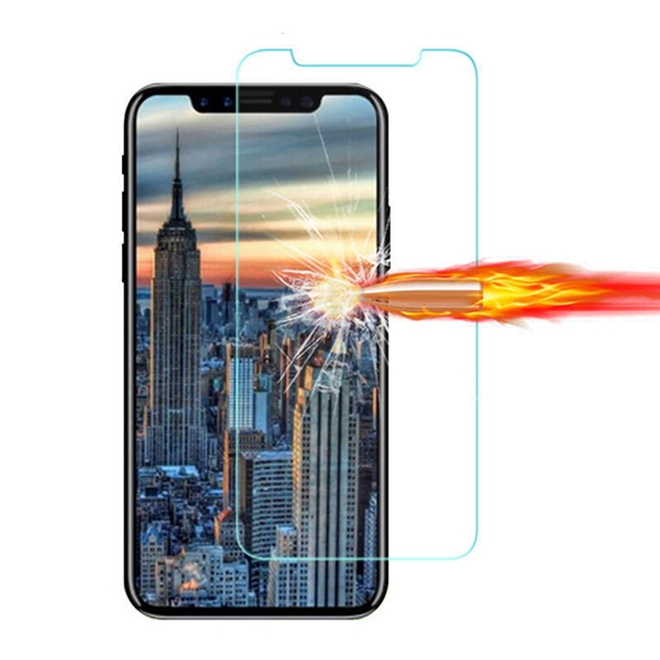 High quality yiwu accessories tempered glass screen protector for iphone X
